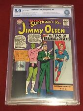 SUPERMAN'S PAL JIMMY OLSEN 86 CBCS 5 Jerry Siegel George Papp Curt Swan CGC 1965