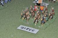 25mm medieval / english - archers 16 figs infantry - inf (21865)