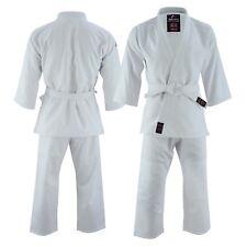 Malino Student Judo White Suit 450gsm Kids Adults 100% Cotton with Free Belt