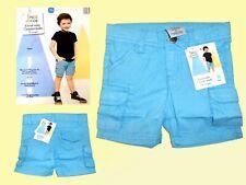 Baby Toddler Bermuda Shorts Shorts Cargo Shorts Turquoise Size 74 New
