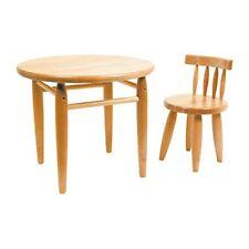 Mobiliario de madera maciza para niños