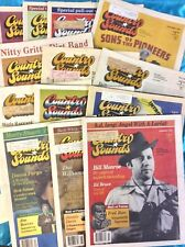 13 Copies of COUNTRY SOUNDS MAGAZINE