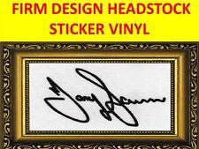 STICKER HEADSTOCK FIRM TONY IOMMI BLACK SABBATH VISIT MY STORE FOR CUSTOM GUITAR