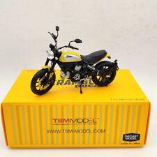 TSM 1:12 Ducati Scrambler Icon 803CC 2015 Rosso TSMMC003 Motorcycle Diecast