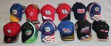 NASCAR RACING HAT CAP COLLECTION OF 12 : NAPA DALE EARNHARDT SR. JR. LABONTE ETC