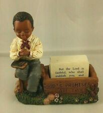 "All Gods Children ""Nate"" Martha Holcombe Figurine One Year Limited Edition jdb"