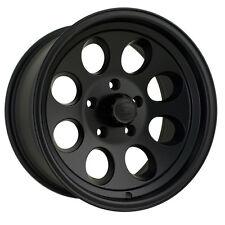 "17"" ION 171 Matte Black Wheels Rims 8x6.5 8 Lug Chevy GMC Dodge RAM  HD Truck"