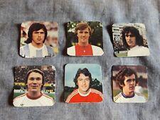 ALBUM FIGURINE CALCIATORI PANINI 1979/80 CALCIATORI STRANIERI Lotto 6 pz rec