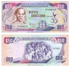 Jamaica 50 Dollars 2012 Commemorative P-89 Banknotes UNC