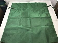 "Giant Green Fabric Organza Reusable Gift Bag 44"" x 39"" x 11"" Drawstring Ribbon"