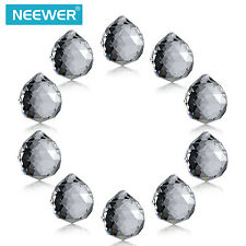 Neewer 1.75 inch Clear Crystal Ball Prism Pendant Suncatcher 40m (10-Pack)