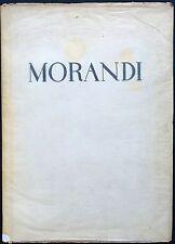 MORANDI - Giorgio Morandi. Testo di G. Scheiwiller. XX tavole a col. Chiantore