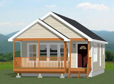 20x32 Tiny House -- 1 Bedroom  -- PDF Floor Plan --640 sq ft -- Model 1E