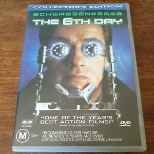 The 6th Day Collector's Edition DVD R4 Like New! FREE POST