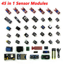 45 in 1 Sensor Modules Starter Kit DIY for Arduino Upgrade Sensor Kit UK