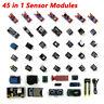45 in 1 Sensor Modules Starter Kit DIY for Arduino Upgrade Sensor Kit UK