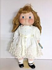 """21"""" Dolly Dingle Doll House of Global Art USA Porcelain Musical Ltd Ed Golden"""