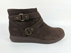 Rocketdog Brown Suede Leather Ankle Boots Uk 6 Eu 39 Hardly Worn
