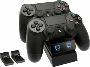 Venom PS4 Controller Dual Charge Docking Station - Black, White, Blue or Red