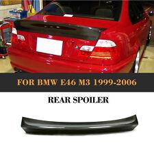 1pc Kohlefaser Heckspoiler Flügellippe Passend für BMW E46 Sedan M3 Saloon 99-06