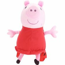 Peppa Pig Plush Backpack Toddler Bag + PeppaPIG Reusable Tumbler New
