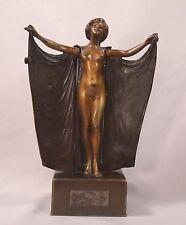 Rare Kauba Mechanical Erotica Vienna Bronze Superb Condition