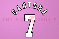Cantona #7 1996-1997 Manchester United HomeKit Nameset Printing