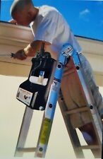 Ladder Mount paint Tray hangs roller brushes easy home Work Construction smart
