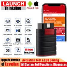 LAUNCH X431 EasyDiag ABS SRS Bidirectional ECU Coding Car OBD2 Diagnostic Tool
