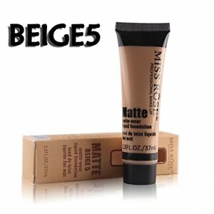 Miss Rose Matte-Wear Liquid Fondation, Beige 5 - 37 ml (1.3 fl oz)
