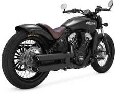 VANCE & HINES TWIN SLASH 3in SLIP-ONS EXHAUST INDIAN SCOUT 2015-2019