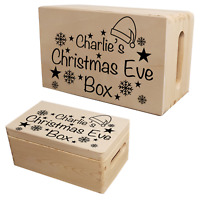 Personalised Christmas Eve Box Stickers Decals Xmas Gift Present Ideas