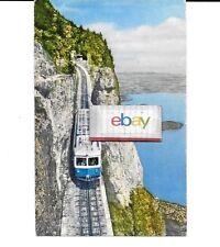 Rigi Railways Switzerland Arth To Rigi Bahn Krabelwand Cogwheel Train Postcard