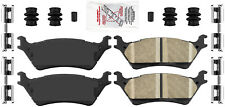 Disc Brake Pad Set-AmeriPlatinum Ceramic with Hardware Rear fits 2012 Ford F-150