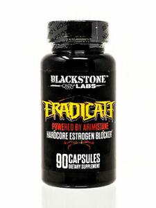 Blackstone Labs Eradicate Estrogen Blocker PCT 90 Caps Testosterone Boost SALE