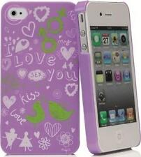 Muvit Doodle Funny Back Case Cover for iPhone 4/4S