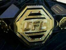 More details for ufc championship replica title belt world ufc champion 2mm brass