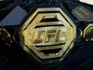 UFC CHAMPIONSHIP REPLICA TITLE BELT WORLD UFC CHAMPION 2MM BRASS