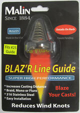 MALIN BLAZ'R LINE GUIDE REDUCES WIND KNOTS INCREASES CASTING DISTANCE BLG225