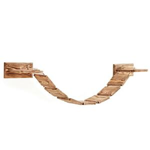Cat Bridge Walkway  Shelf - Wall Mounted - Made From Solid Wood Fast Delivery UK