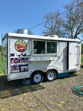 2019 Class 4 - 8.5' x 16' Mobile Kitchen / Lightly Used Food Concession Trailer