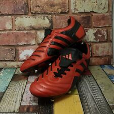 Adidas Predator Pulse Absolute Football boots size 10.5 red leather 2004 eu 45