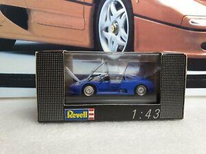 REVELL / EDITION 1/43 - BUGATTI EB110 - BLUE   - 1/43 scale model car  - 8501