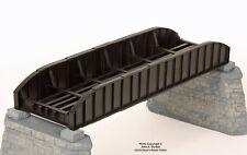 BRASS PBA 1015-1 63.5 FOOT PONY PLATE GIRDER BRIDGE 1 TRACK F/P BLACK NEW