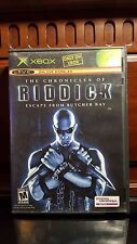 The Chronicles of Riddick: Escape From Butcher Bay (Microsoft Xbox, 2004) Com.