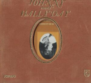 CD Johnny Chante Hallyday Digibook Velours 2000