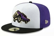 New Era Fresno Grizzlies Lowrider 59FIFTY 7 1/2 Fitted Hat Cap MiLB Minors Copa