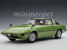 AUTOart 75981 MAZDA RX-7 (SA) SAVANNA 1/18 DIECAST MODEL CAR MACH GREEN