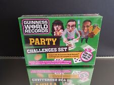 Guinness World Records Party Challenges Set - NEW/Sealed