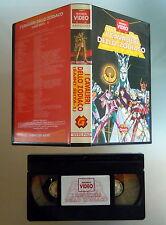VHS I CAVALIERI DELLO ZODIACO Saint Seiya 1 Manga Video GRANATA 1987